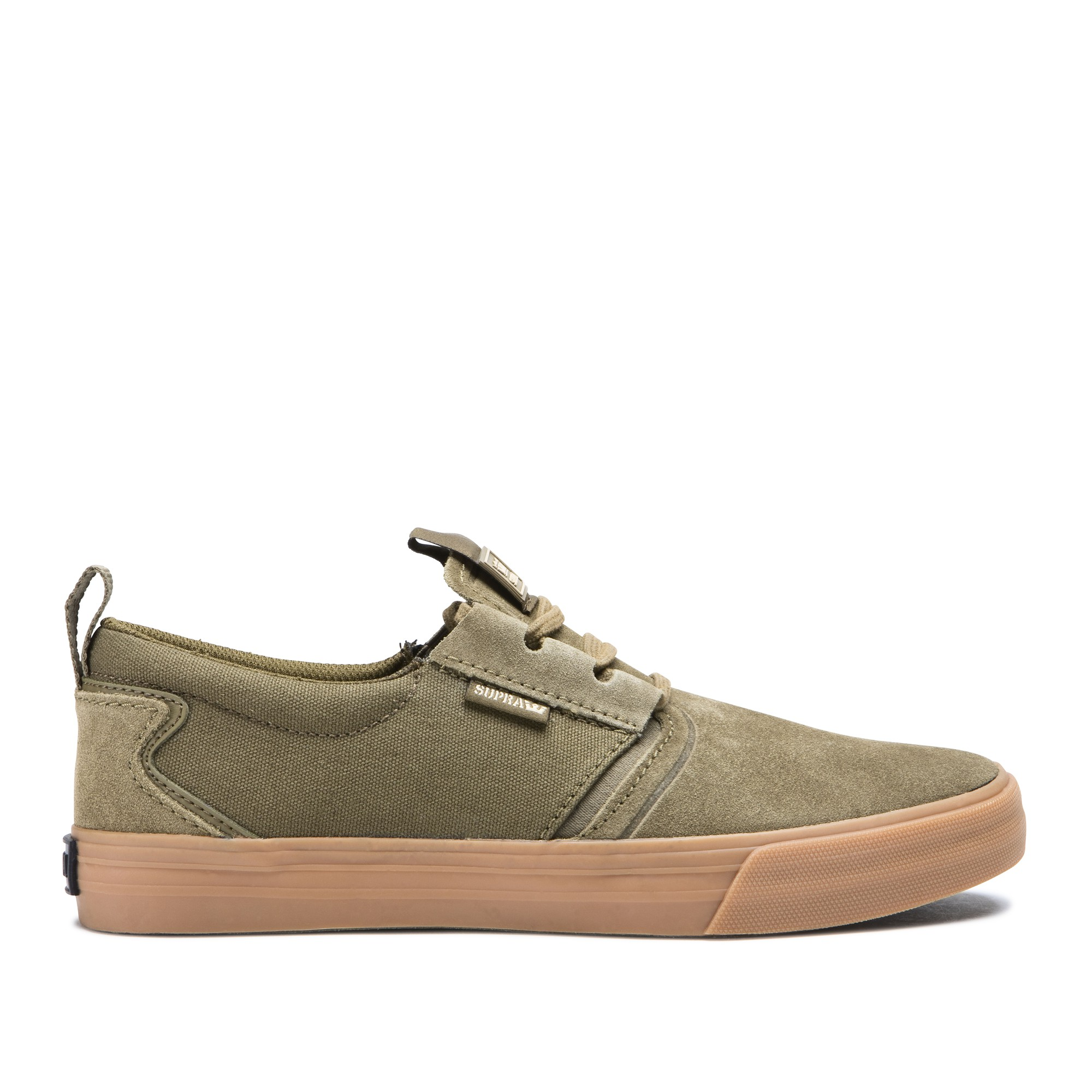shoes supra flow olive gum