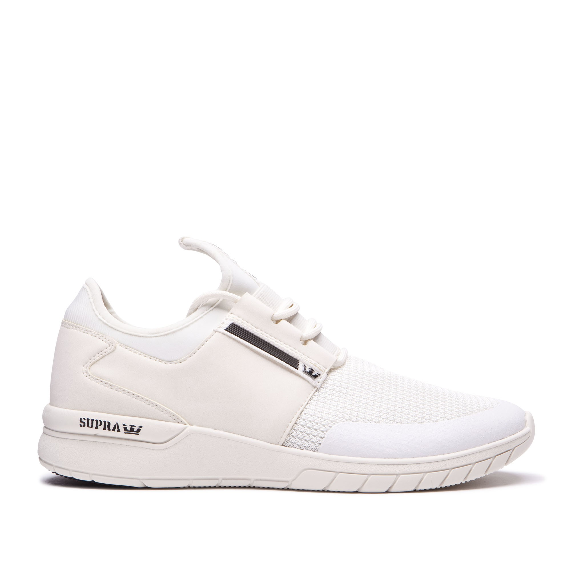 Off Supra Chaussures Blanco Flow Run 6X8XPptqn