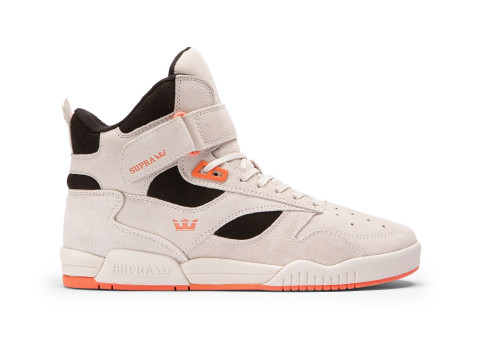 Chaussures SUPRA BLEEKER Off white black coral off wht