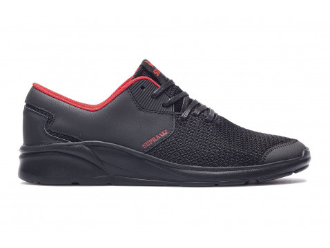 Chaussures SUPRA NOIZ Black red black