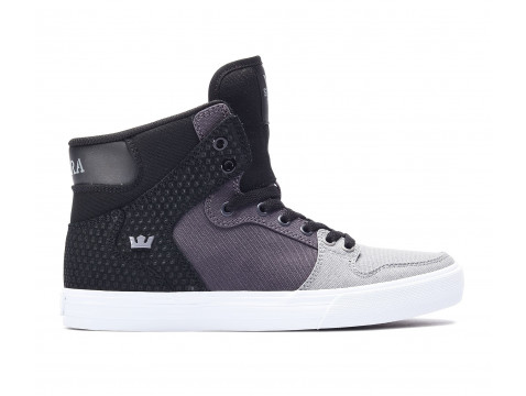 Chaussures Supra vaider grey gradient white