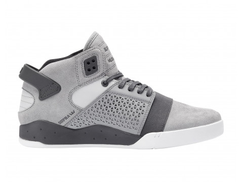 Chaussures Supra skytop III grey charcoal white