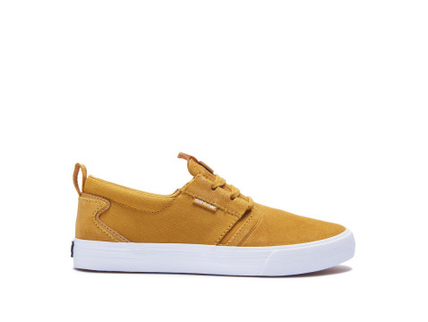 Chaussures SUPRA FLOW Amber gold white