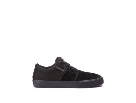 SUPRA KIDS STACKS VULC II black black 58193-081-M
