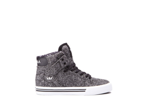 SUPRA KIDS VAIDER black white 58200-002-M