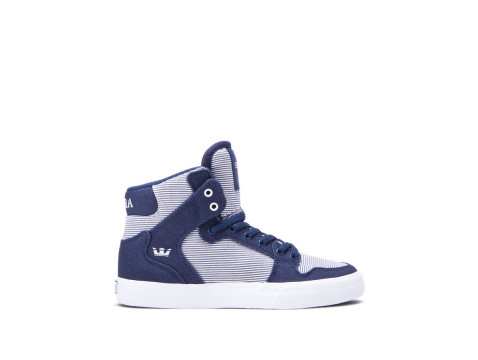 SUPRA KIDS VAIDER Blue white