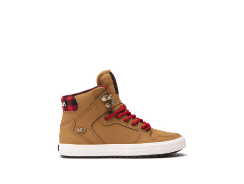Chaussures SUPRA KIDS VAIDER CW bone brown bone 58043-229-M