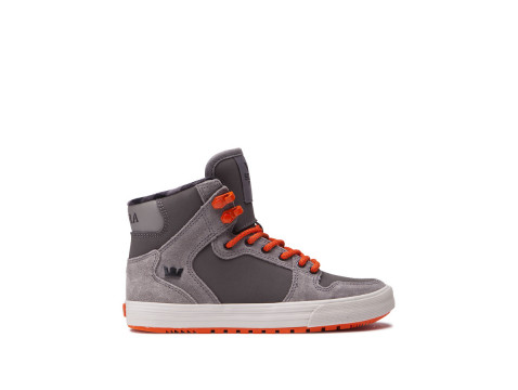 Chaussures SUPRA KIDS VAIDER CW brushed nickel flame 58043-086-M