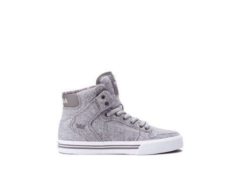 SUPRA KIDS VAIDER grey white 58200-031-M