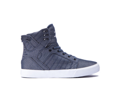 Chaussures SUPRA SKYTOP Blue white