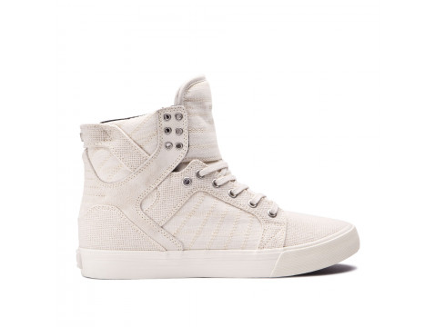 Chaussures SUPRA SKYTOP off white off white 08333-125-M