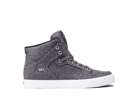 Chaussures SUPRA VAIDER charcoal wool white 08204-053-M
