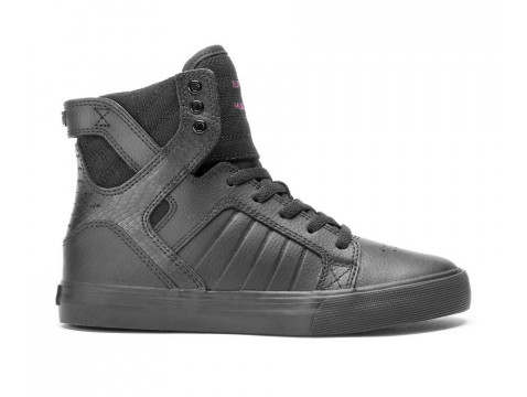 Supra kids SKYTOP red carept series black