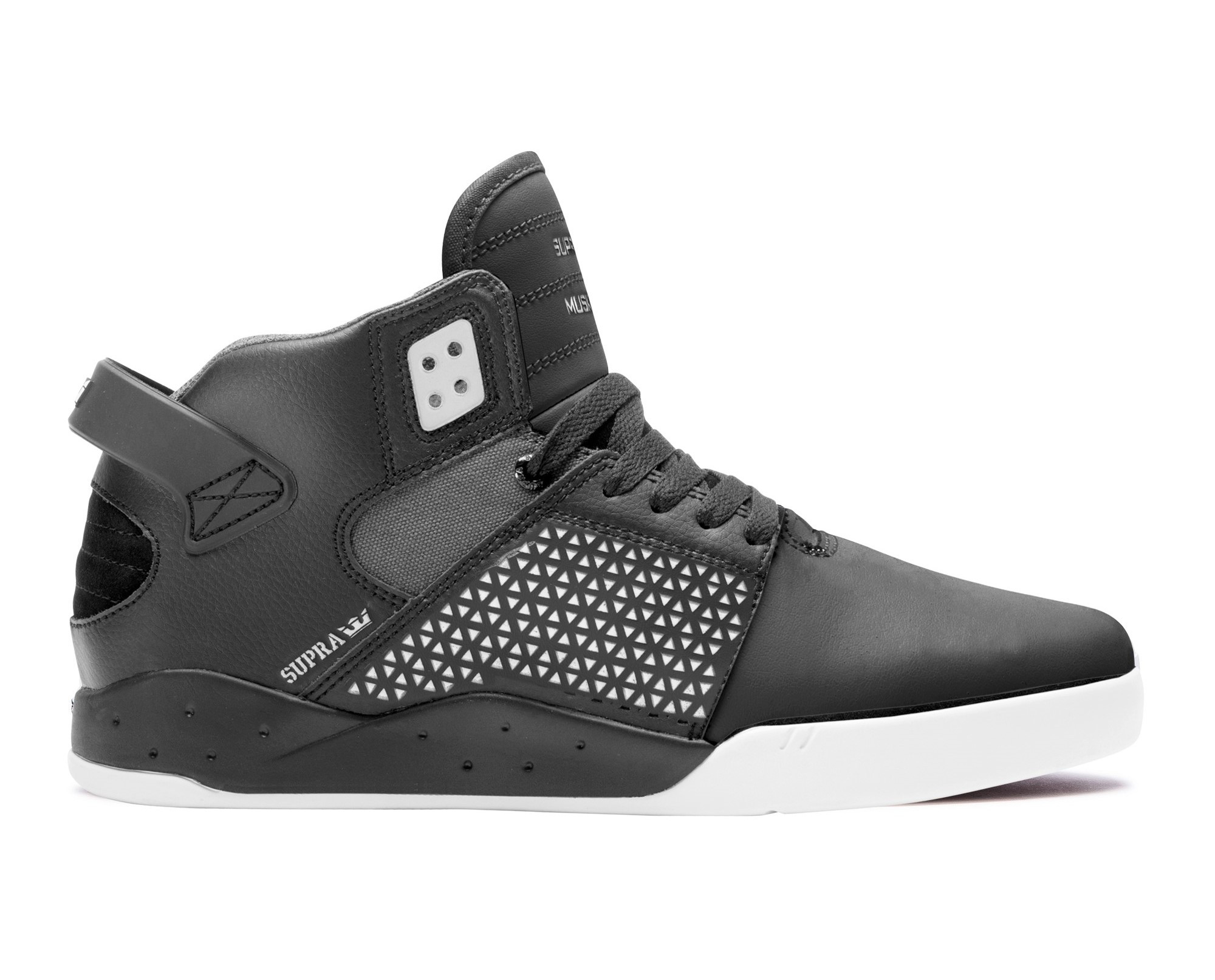 Marques Chaussure homme Supra homme Skytop III White/Black//White