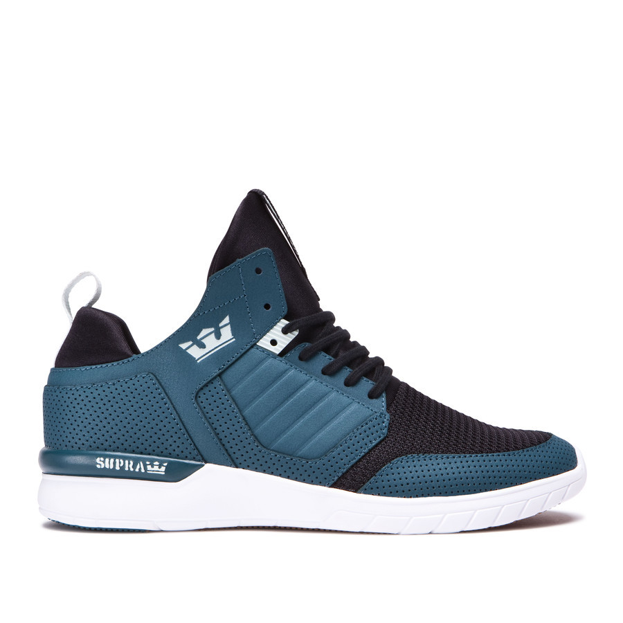 Supra Chaussures  METHOD Teal white white - Chaussures Baskets basses Homme