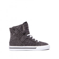 SUPRA KIDS SKYTOP Black white