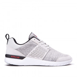 SUPRA SCISSOR Light grey red