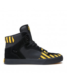 Chaussures SUPRA VAIDER caution black black_08206-821-M front