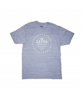 Tee shirt SUPRA STAR Seal/Grey Heather