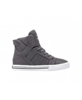 Chaussures SUPRA SKYTOP Charcoal white