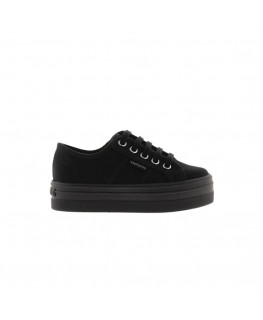 Chaussures FEMME VICTORIA BARCELONA LONA MONOCR negro_109201 front