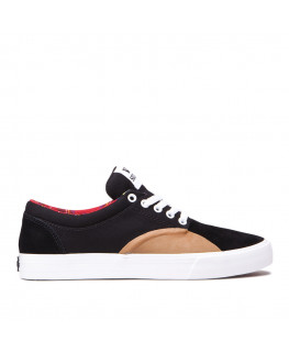 SUPRA CHINO black gum white