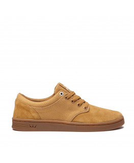 Chaussures SUPRA CHINO COURT tan gum_08058-278-M front
