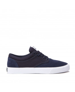 Chaussures SUPRA CHINO navy white_08051-401-M front
