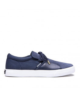 Chaussures SUPRA CUBA navy white_08106-402-M front