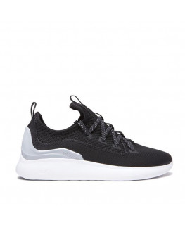 Chaussures SUPRA FACTOR black lt grey white_05895-071-M front