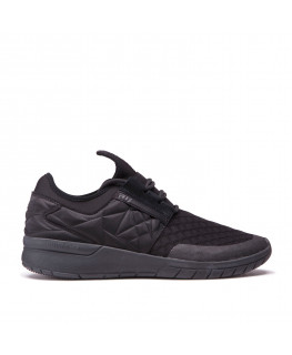 Chaussures SUPRA FLOW RUN EVO black black 08342-001-M
