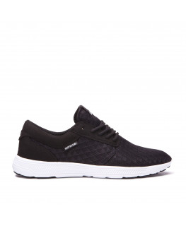 chaussures supra hammer run black lt grey white 08128-098-m