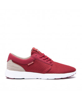 SUPRA HAMMER RUN brick red white