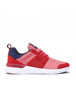 Chaussures SUPRA SCISSOR red navy white 98027-649-M