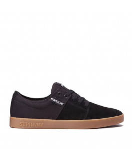 Chaussures SUPRA STACKS II black gum_08183-055-M front
