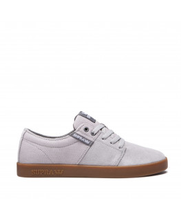 Chaussures SUPRA STACKS II lt grey grey gum_08183-079-M front