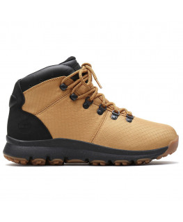 Chaussures TIMBERLAND WORLD HIKER WATERPROOF MID HIKER wheat ripstop_TB0A1YXT231 front