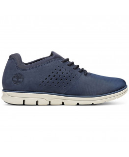 Chaussures TIMBERLAND BARDSTREET LEATHER FABRIC OX navy nubuck_TB0A21DU019_1