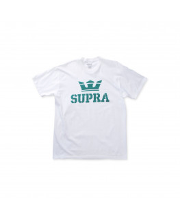 Tee shirt SUPRA ABOVE REGULAR SS TEE white tea_103437-153
