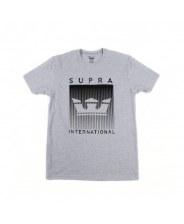 Tee shirt SUPRA CRWNFDESHRTSLVTEE grey heather_102150-020