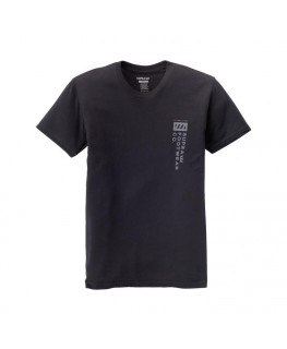 Tee shirt SUPRA SUPRA FOOTWEAR CO SS black_102565-008 front