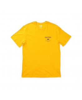 Tee Shirt SUPRA TRADEMARK SS caution_102209-811 front