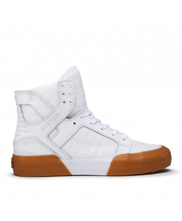 Chaussures SUPRA SKYTOP 77 white gum_06578-151-M front