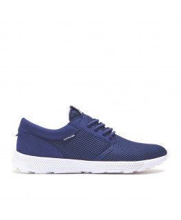 chaussure supra hammer run navy bone