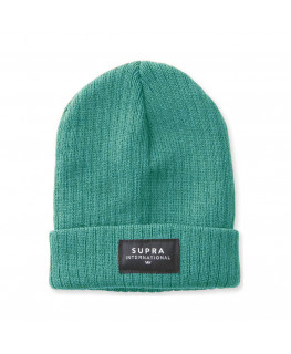 Bonnet SUPRA ICON INTL BEANIE teal_C6062-492 front