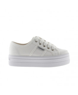 Chaussures FEMME VICTORIA BARCELONA LONA blanco_109200 front