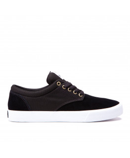 Chaussures SUPRA CHINO black white white_08051-009-M front