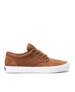 SUPRA CHINO brown white white