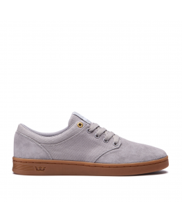 chaussures supra chino court light grey gum 08058-012-m