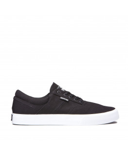 Chaussures SUPRA COBALT black white_05663-002-M front